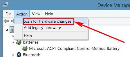 Sửa lỗi mất biểu tượng pin trên Windows 10, 7, 8.1 9