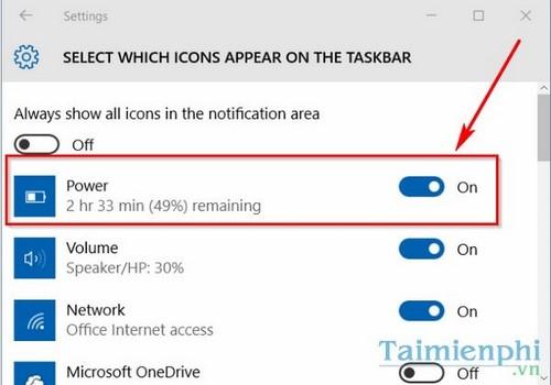 Sửa lỗi mất biểu tượng pin trên Windows 10, 7, 8.1 3