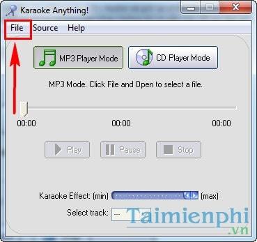 Tách lời, tạo nhạc beat, karaoke, ghi âm bài hát bằng Karaoke Anything