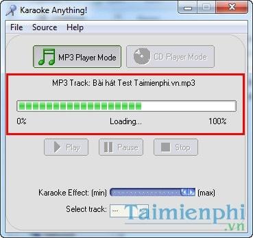 Tách lời, tạo nhạc beat, karaoke, ghi âm bài hát bằng Karaoke Anything 3