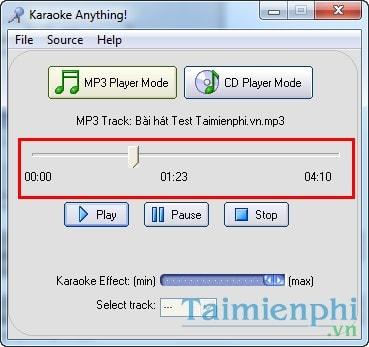 Tách lời, tạo nhạc beat, karaoke, ghi âm bài hát bằng Karaoke Anything 5