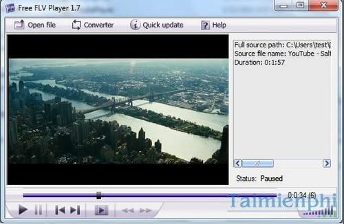 Top 5 phần mềm xem video FLV miễn phí 1