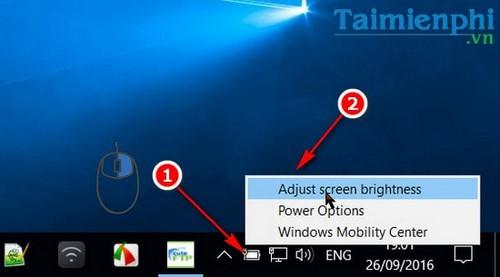 4 cách thay đổi độ sáng trên Windows 10 5