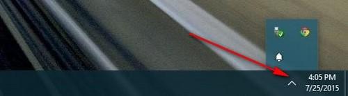 Ẩn, tắt biểu tượng, hiển thị icon trên Taskbar trong Windows 10 6