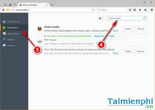 Bật, tắt âm thanh tab trên Firefox
