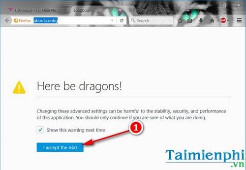 Bật tắt tính năng cuộn mượt trên Firefox, bật smooth scrolling trên Firefox