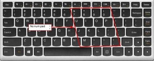 Cách bật tắt numlock trên laptop Lenovo