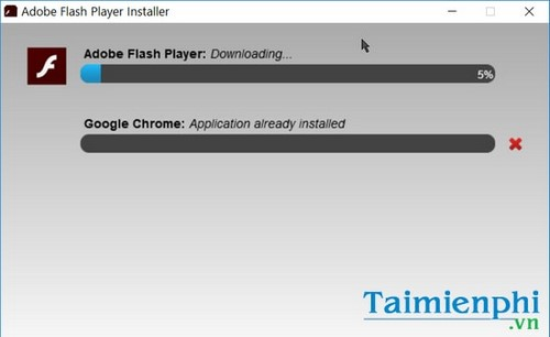cap nhat flash player cho win 10