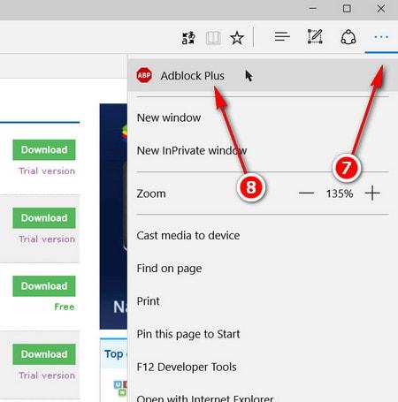 Cách chặn quảng cáo trong trình duyệt Microsoft Edge