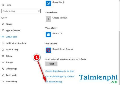 Cách đặt Microsoft Edge làm trình duyệt mặc định trên Windows 10