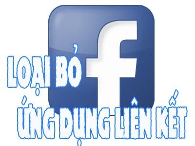 loai bo ung dung lien ket tren Facebook cho android