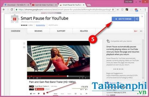 Cách tự động dừng video YouTube khi chuyển sang tab mới