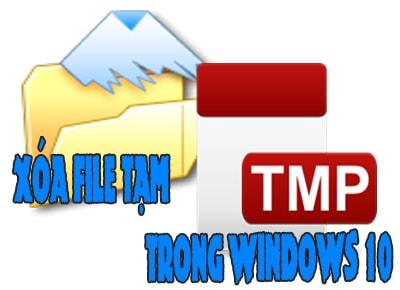 cach xoa file tam trong windows 10