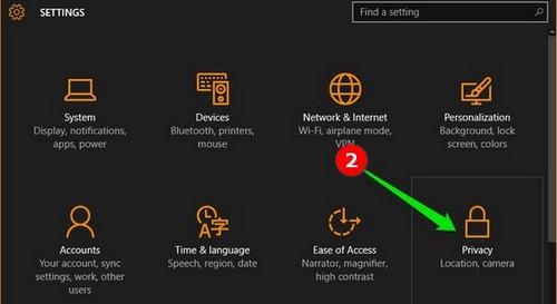 Chặn, tắt ứng dụng chạy ngầm trên Windows 10 2