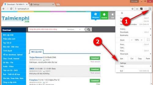 Chuyển bookmark, sao lưu, nhập bookmark từ Firefox sang Chrome