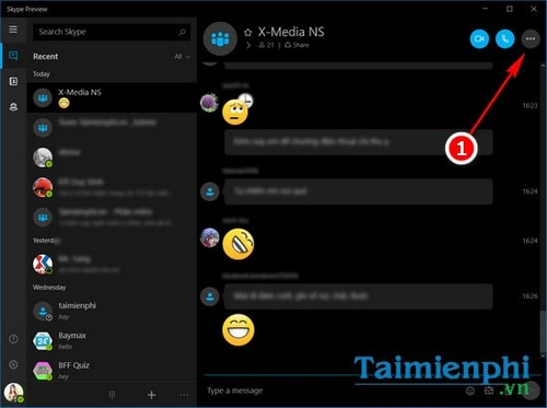 tat thong bao update skype