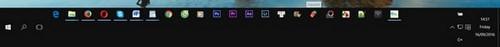 Thay đổi kích thước thanh Taskbar trên Windows 10 3