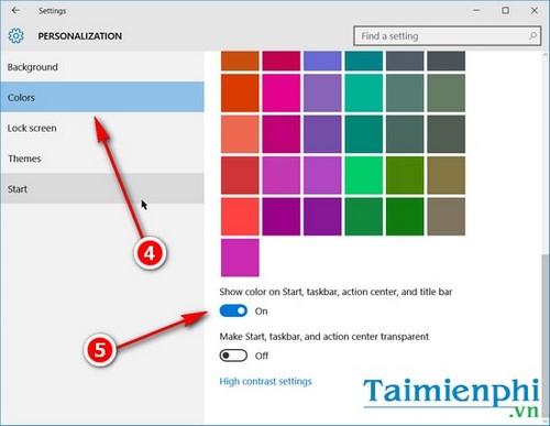 Thay đổi kích thước thanh Taskbar trên Windows 10 6