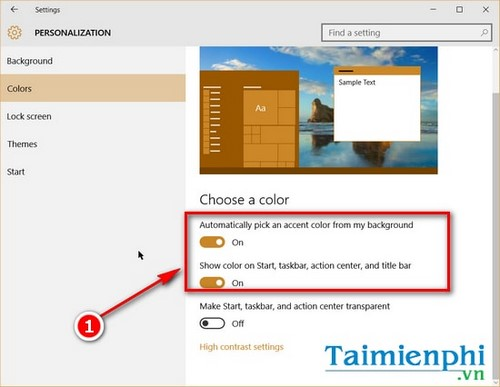 Thay đổi kích thước thanh Taskbar trên Windows 10 7