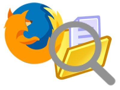 Tìm kiếm thư mục profile người dùng trên Firefox