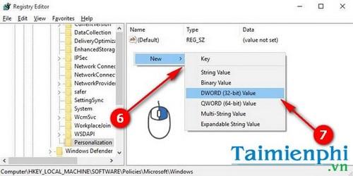 Vô hiệu hóa, tắt màn hình khóa lockscreen trên Windows 10