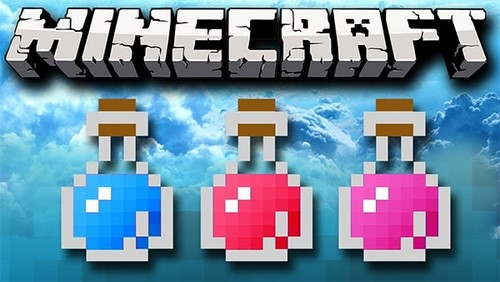 cac loai thuoc trong minecraft