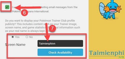 Tạo tài khoản Pokemon, đăng ký tài khoản Pokemon Go