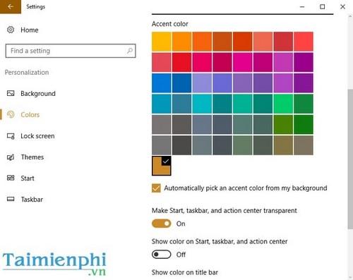 Tùy chỉnh Start Menu, Tùy biến giao diện Start Menu trên Windows 10 9