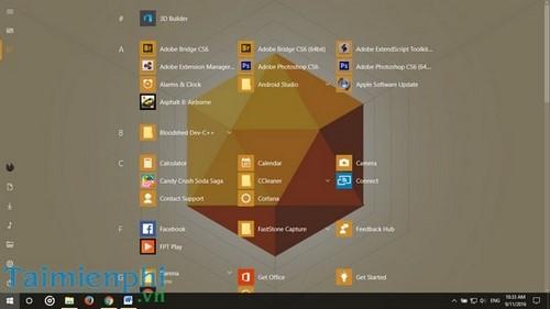 Tùy chỉnh Start Menu, Tùy biến giao diện Start Menu trên Windows 10 21