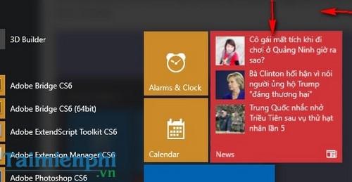 Tùy chỉnh Start Menu, Tùy biến giao diện Start Menu trên Windows 10 2