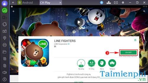 choi Line Fighters tren laptop