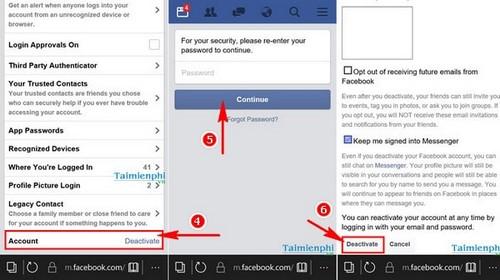 Xóa tài khoản Facebook tạm thời và vĩnh viễn 32