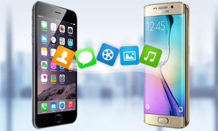 Chuyển dữ liệu danh bạ, tin nhắn, hình ảnh, video từ Android sang iPhone, iPad