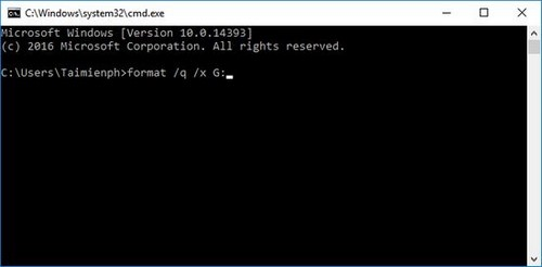 Sửa lỗi USB Windows was unable to complete the format, lỗi usb không thể format 8