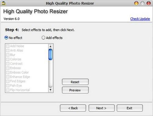 Cách giảm dung lượng ảnh hàng loạt bằng High Quality Photo Resize