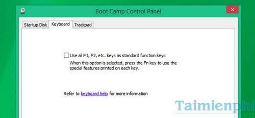 Cách bật, tắt phím chức năng FN + F1, F2, F3, ... F12 trên Laptop 9