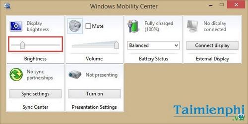 Cách Tăng, Giảm, Chỉnh độ sáng màn hình laptop 10
