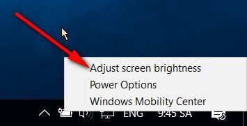 Cách Tăng, Giảm, Chỉnh độ sáng màn hình laptop 11