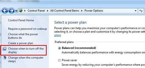 Cách chỉnh thời gian tắt màn hình Win XP/7/ 8/ 8.1/ 10 nhanh nhất.  10
