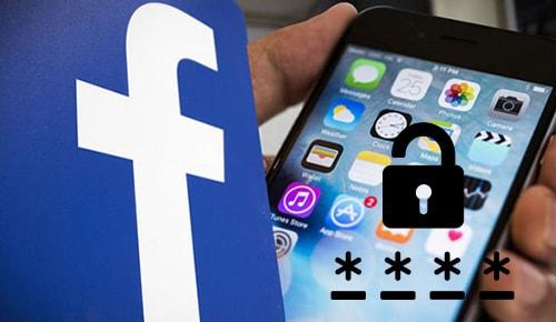 cach doi mat khau facebook tren iphone