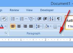 Cách tạo dòng chấm, tab (..........) trong Word 2010, 2016, 2013, 2007, 2003 8