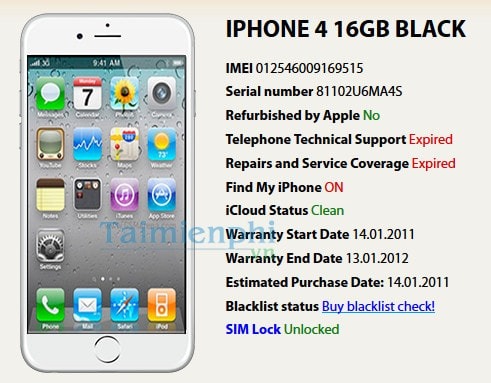 check imei iphone 7 plus