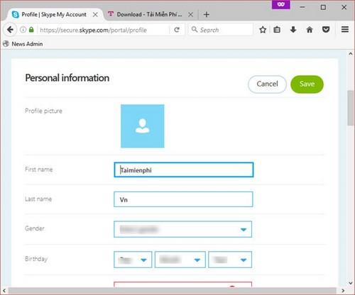 Cách xóa tài khoản Skype vĩnh viễn trên máy tính 8