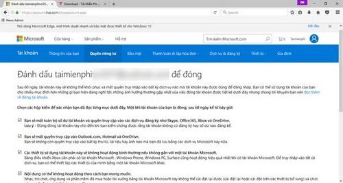 Cách xóa tài khoản Skype vĩnh viễn trên máy tính 2