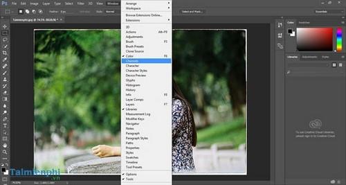 Cách làm nét ảnh bằng Photoshop, tăng độ nét cho ảnh mờ 6