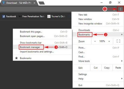 Cách đồng bộ bookmarks vào Firefox, đồng bộ đánh dấu trang trên Firefox