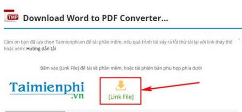 cai Word to PDF converter