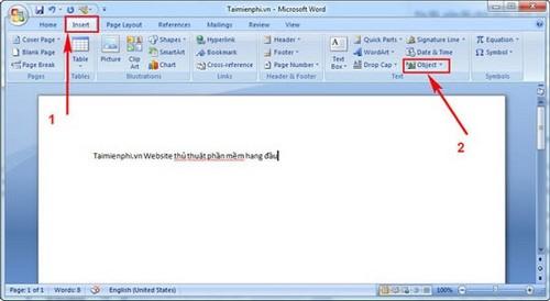 ghep van ban trong Word 2007