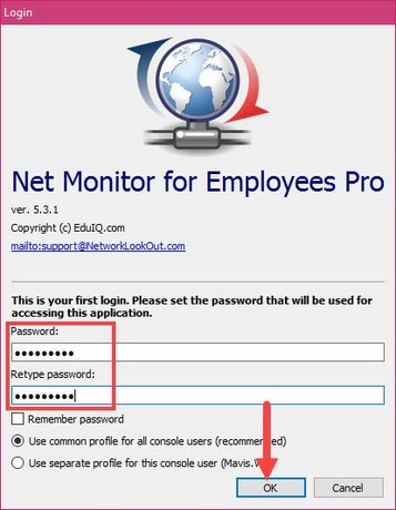 giveaway net monitor for emplyees