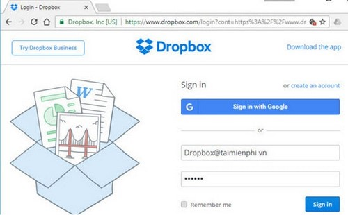 doi ten file tren dropbox